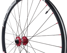 Custom-Built Aluminum Mountain Bike Wheel