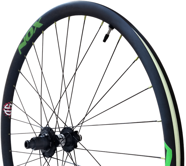 Custom Mountain Bicycle Carbon Wheelset